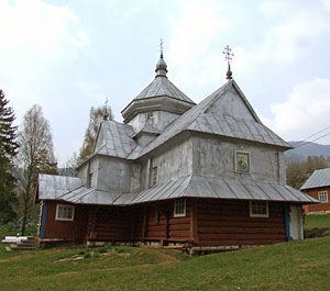 Hutsul church. Photo: Roman PeCHYZHak