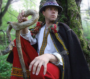 Hutsul in original clothes. Photo: Roman PeCHYZHak