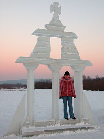 Ice bell tower