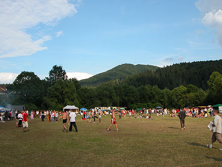 Open-air in Carpathians