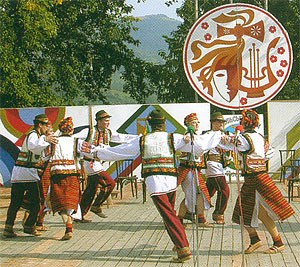Hutsul folk dance