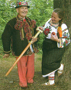 Original hutsul clothes