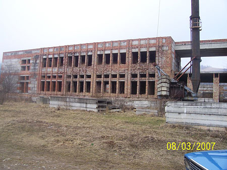 Real estate in Ukraine: unfinished building