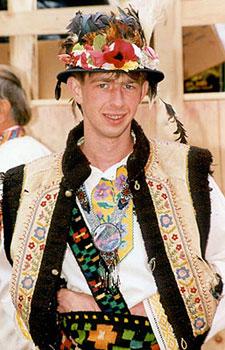 Гуцульський одяг фото василь